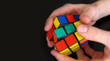 Sales Training Rubik's Cube