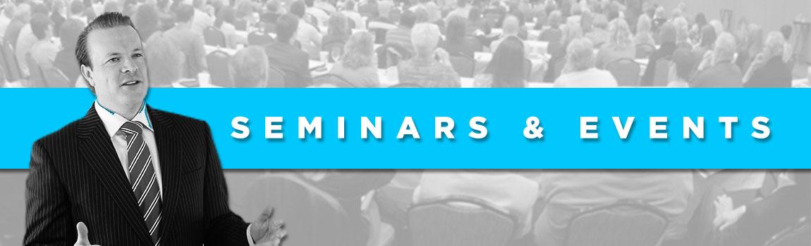 Sales Training Seminar Header
